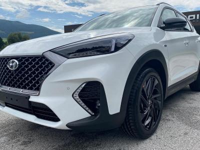 Hyundai Tucson 2,0 CRDI 4WD N-Line Plus Aut. bei BM    Schnitzer GesmbH in